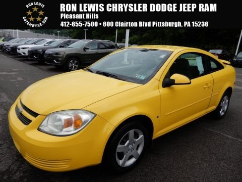 Rally Yellow 2006 Chevrolet Cobalt LS Coupe
