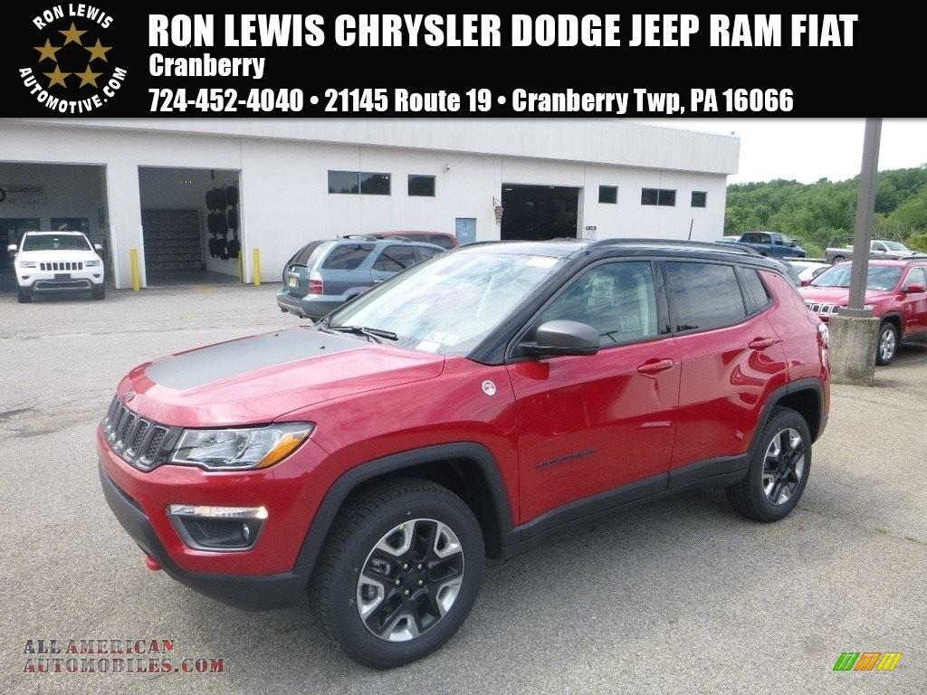 Ron Lewis Jeep >> 2018 Jeep Compass Trailhawk 4x4 in Redline Pearl for sale - 454900 | All American Automobiles ...