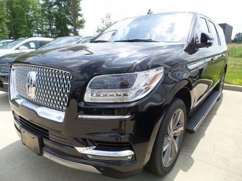 Black Velvet 2018 Lincoln Navigator Select L 4x4