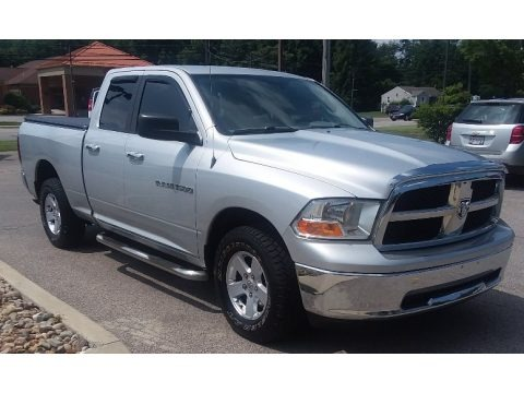 Bright Silver Metallic 2011 Dodge Ram 1500 SLT Quad Cab 4x4