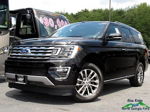 Shadow Black 2018 Ford Expedition Limited