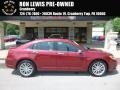 Chrysler 200 Limited Sedan Deep Cherry Red Crystal Pearl Coat photo #1