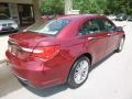Chrysler 200 Limited Sedan Deep Cherry Red Crystal Pearl Coat photo #2