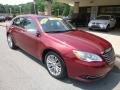 Chrysler 200 Limited Sedan Deep Cherry Red Crystal Pearl Coat photo #3
