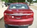 Chrysler 200 Limited Sedan Deep Cherry Red Crystal Pearl Coat photo #9