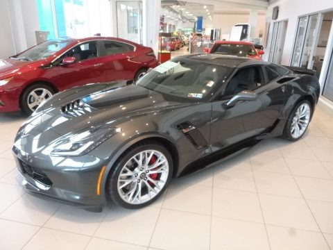 Watkins Glen Gray Metallic 2019 Chevrolet Corvette Z06 Coupe