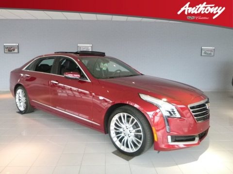 Red Horizon Tintcoat 2018 Cadillac CT6 3.0 Turbo Premium Luxury AWD Sedan