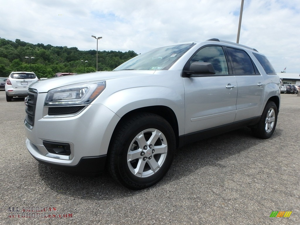 2015 Acadia SLE AWD - Quicksilver Metallic / Ebony photo #1