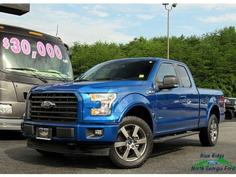 Blue Jeans 2017 Ford F150 XLT SuperCab 4x4