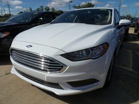 Oxford White 2018 Ford Fusion SE