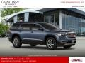 GMC Acadia SLT AWD Blue Steel Metallic photo #4