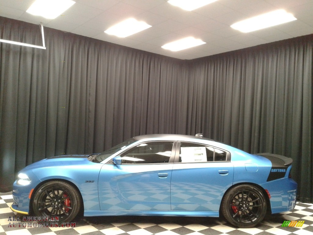 2018 dodge charger daytona 392 in b5 blue pearl for sale for Steve white motors inc