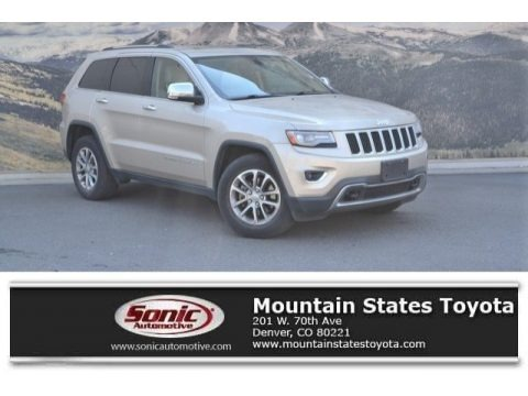 Cashmere Pearl 2014 Jeep Grand Cherokee Limited 4x4