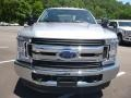 Ford F250 Super Duty XL Crew Cab 4x4 Ingot Silver photo #4