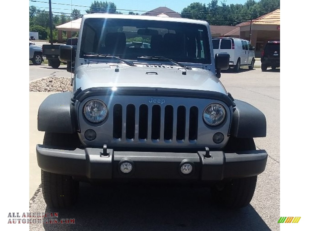 2015 Wrangler Sport 4x4 - Billet Silver Metallic / Black photo #1