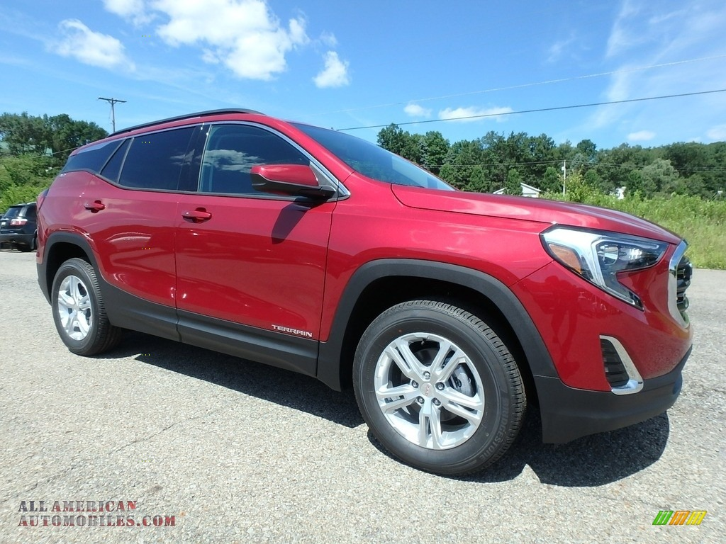 2019 Terrain SLE AWD - Red Quartz Tintcoat / Jet Black photo #3
