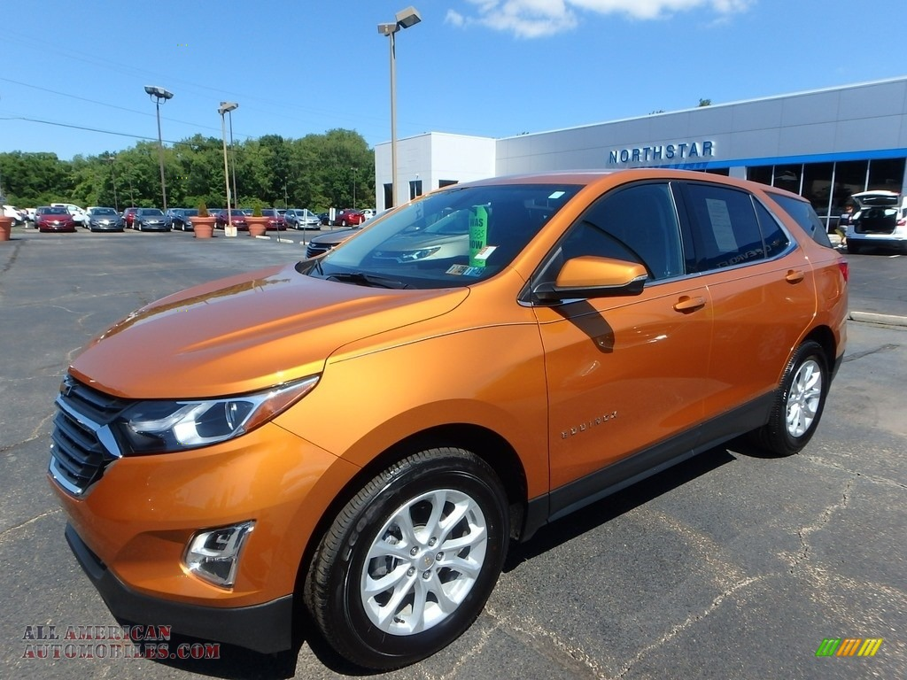 2018 Chevrolet Equinox Lt Awd In Orange Burst Metallic For