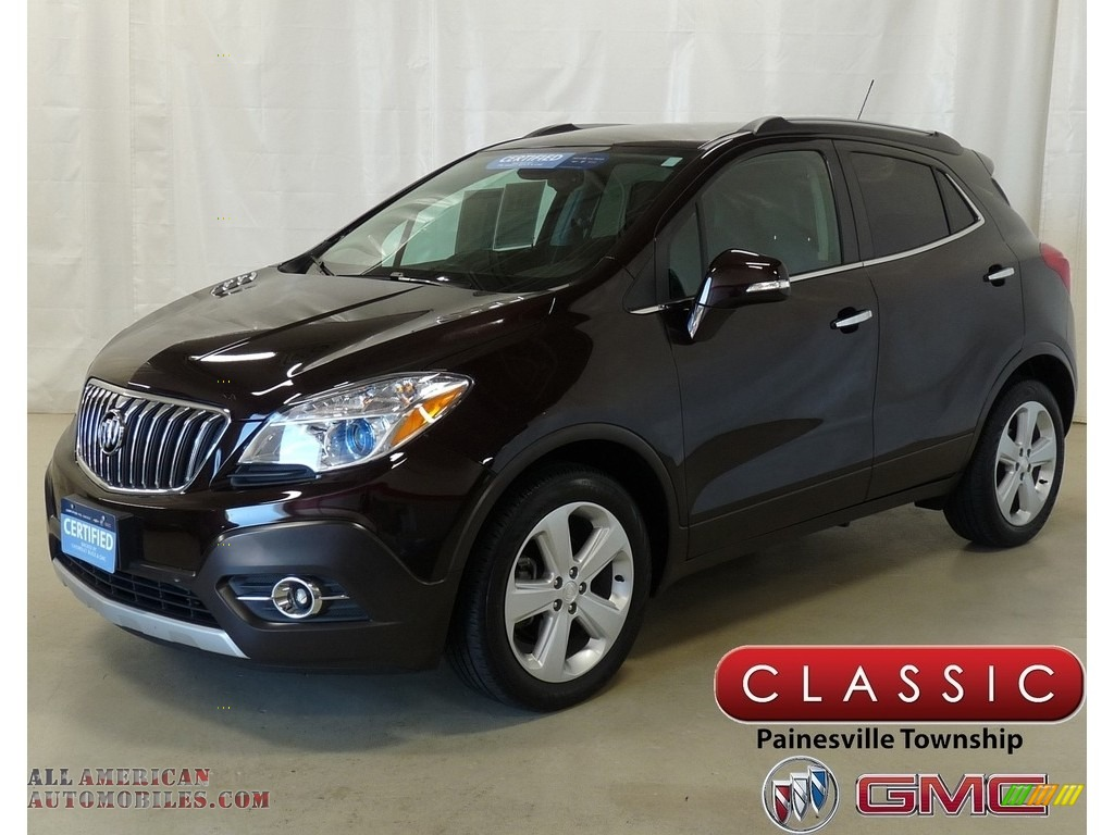 Deep Espresso Brown Metallic / Ebony Buick Encore Convenience