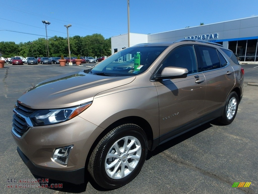2018 Chevrolet Equinox Lt Awd In Sandy Ridge Metallic For
