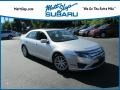 Ford Fusion SEL V6 AWD Ingot Silver Metallic photo #1
