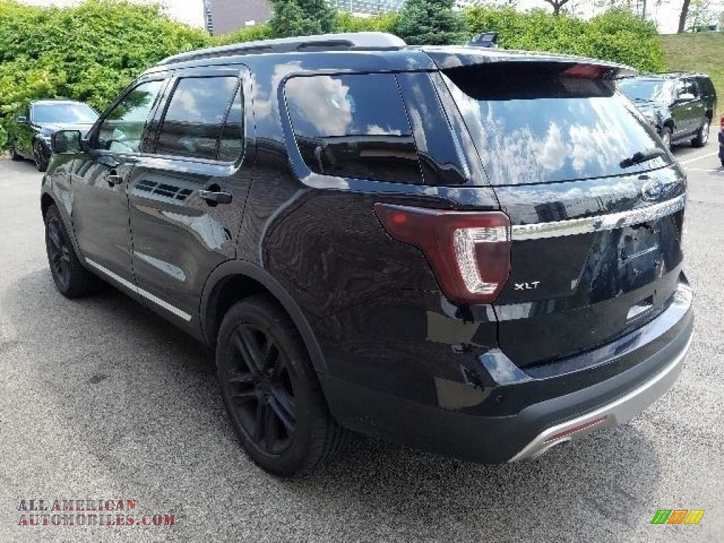 2016 Explorer XLT 4WD - Shadow Black / Ebony Black photo #2