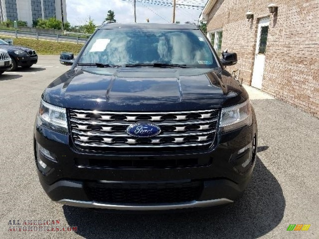 2016 Explorer XLT 4WD - Shadow Black / Ebony Black photo #8