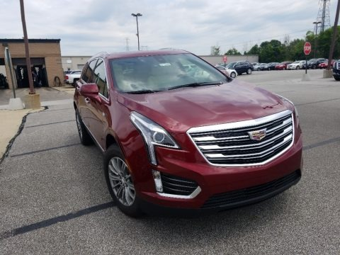 Red Passion Tintcoat 2018 Cadillac XT5 Luxury AWD