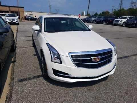 Crystal White Tricoat 2018 Cadillac ATS Luxury AWD