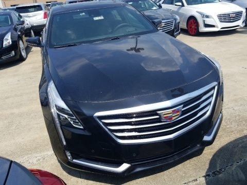 Stellar Black Metallic 2018 Cadillac CT6 3.0 Turbo Luxury AWD Sedan