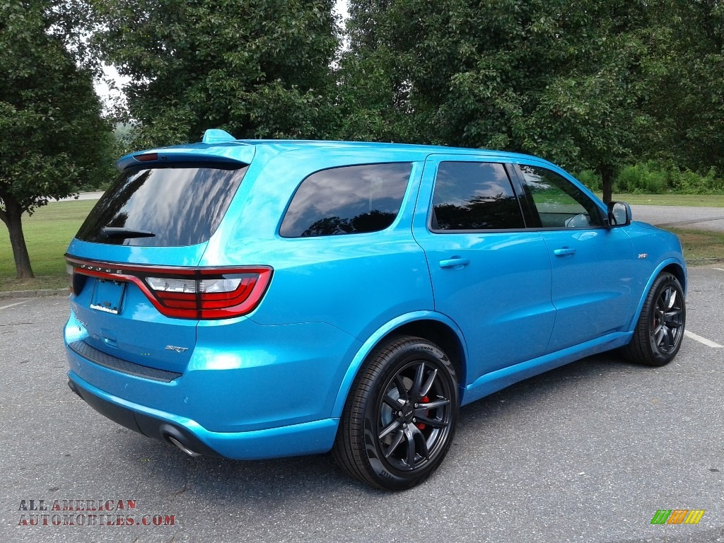 2018 Durango SRT AWD - Surf Blue Pearl / Black photo #6