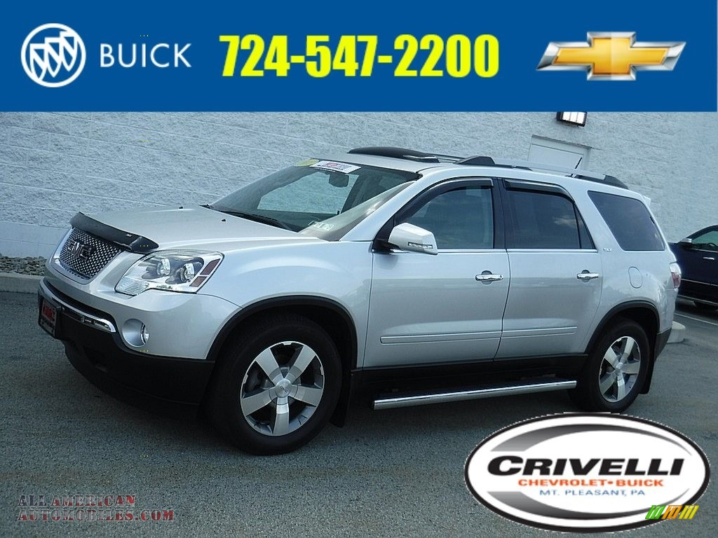 2011 Acadia SLT AWD - Quicksilver Metallic / Light Titanium photo #1