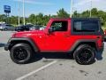 Jeep Wrangler Willys Wheeler 4x4 Firecracker Red photo #2