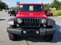 Jeep Wrangler Willys Wheeler 4x4 Firecracker Red photo #8