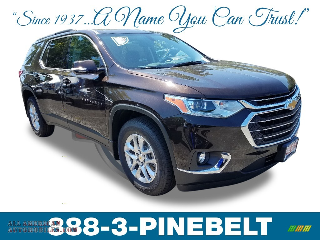 2019 Traverse LT - Havana Brown Metallic / Jet Black photo #1
