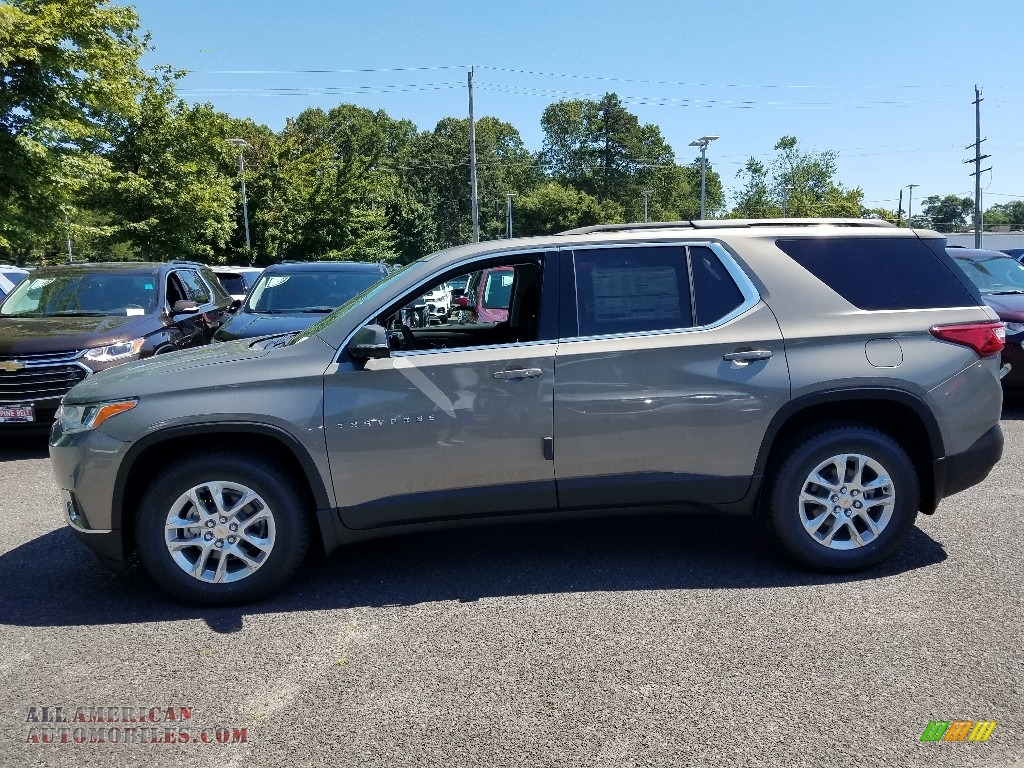 2019 Traverse LT AWD - Pepperdust Metallic / Jet Black photo #3
