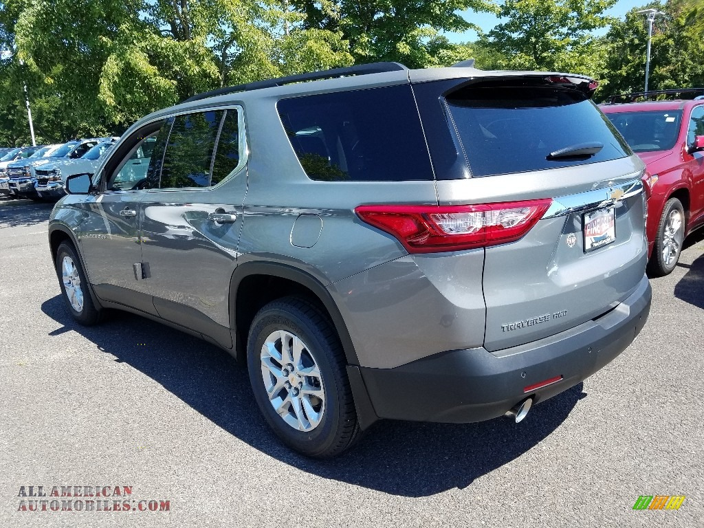 2019 Traverse LT AWD - Pepperdust Metallic / Jet Black photo #4