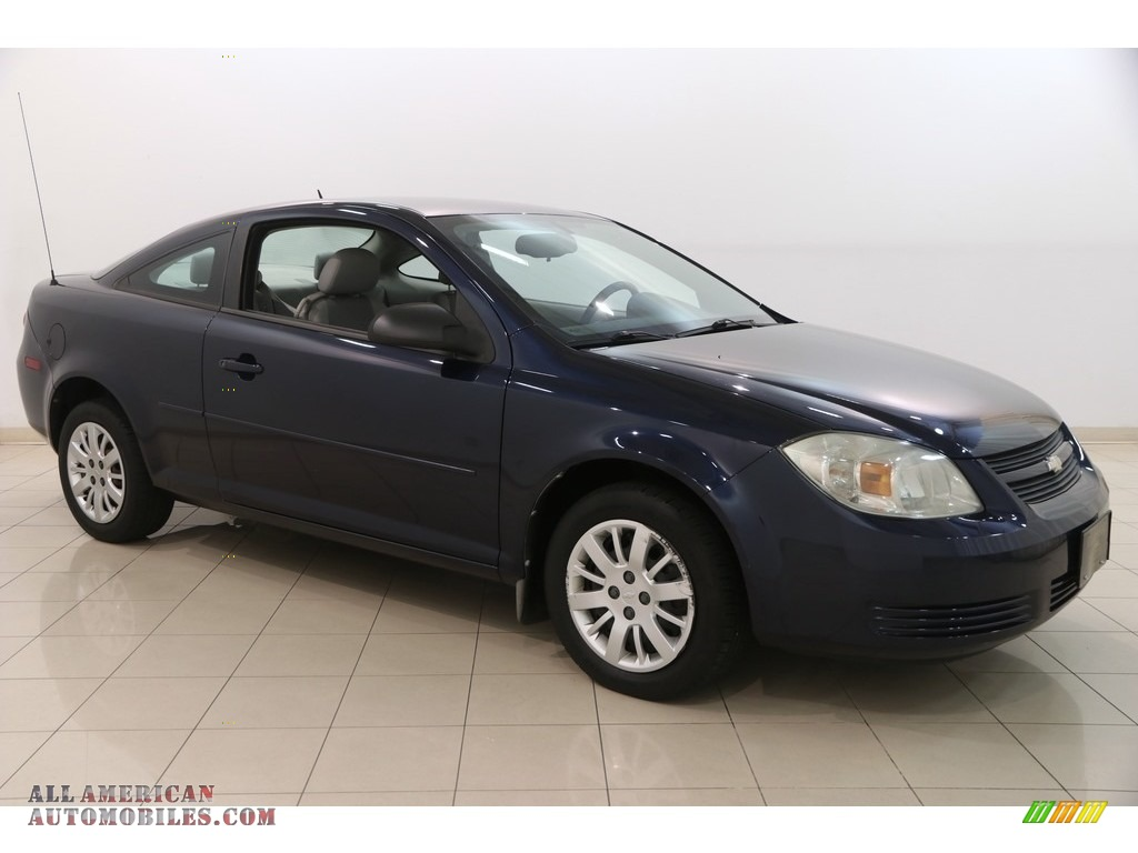 2010 Cobalt LS Coupe - Imperial Blue Metallic / Gray photo #1