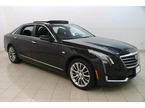 Midnight Sky Metallic 2018 Cadillac CT6 3.6 Luxury AWD Sedan