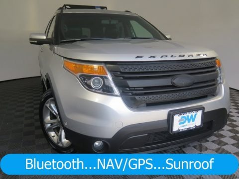 Ingot Silver Metallic 2011 Ford Explorer Limited 4WD
