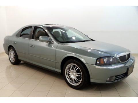 Light Tundra Metallic 2004 Lincoln LS V6