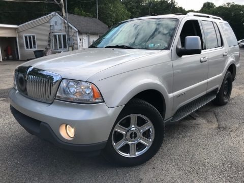 Silver Birch Metallic 2005 Lincoln Aviator Luxury AWD