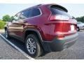 Jeep Cherokee Latitude Plus Velvet Red Pearl photo #11