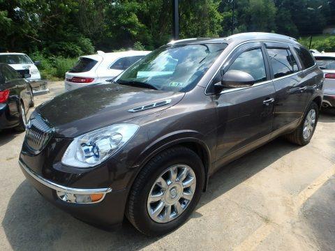 Cocoa Metallic 2012 Buick Enclave AWD