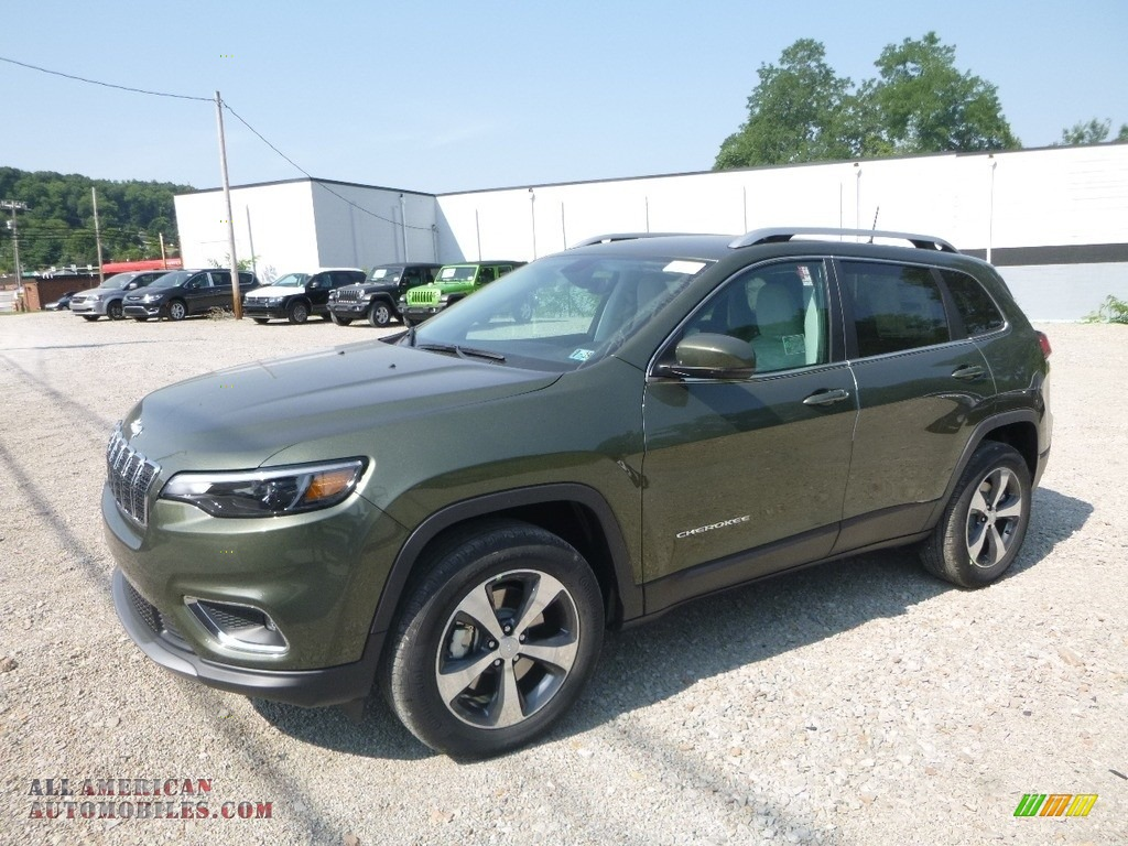 Ron Lewis Jeep >> 2019 Jeep Cherokee Limited 4x4 in Olive Green Pearl for sale - 232209 | All American Automobiles ...