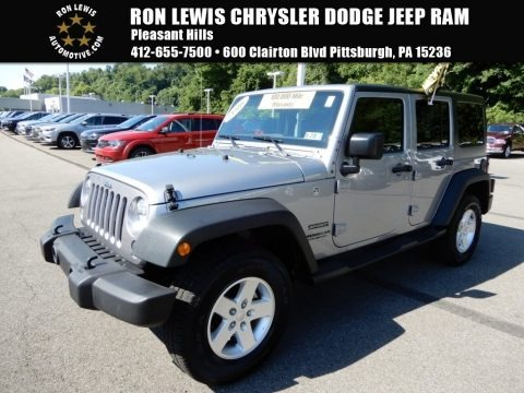 Billet Silver Metallic 2016 Jeep Wrangler Unlimited Sport 4x4