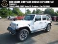 Jeep Wrangler Unlimited Sahara 4x4 Bright White photo #1