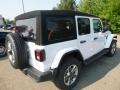 Jeep Wrangler Unlimited Sahara 4x4 Bright White photo #5