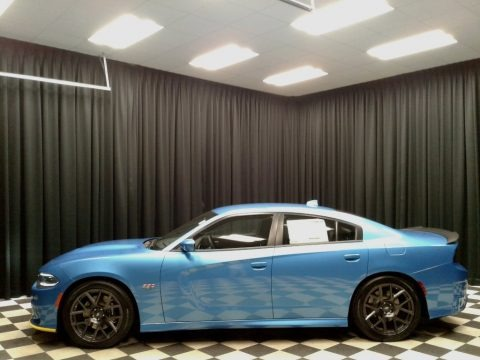 B5 Blue Pearl 2018 Dodge Charger R/T Scat Pack
