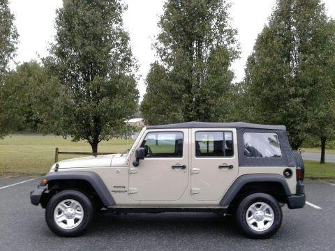 Gobi 2017 Jeep Wrangler Unlimited Sport 4x4