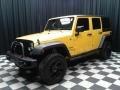 Jeep Wrangler Unlimited Sport 4x4 Baja Yellow photo #2